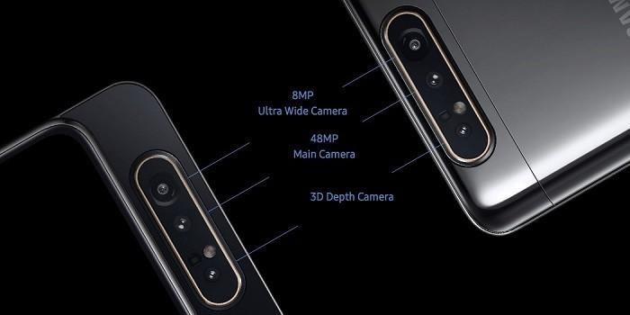 Samsung Galaxy A70 vs Galaxy A80 Kamera