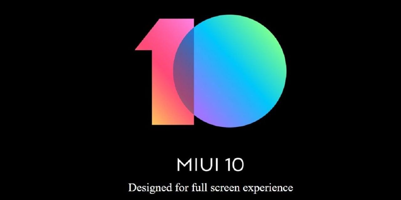 MIUI 10 Dark Mode Header