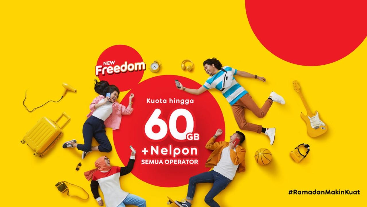 Ramadhan New Freedom Indosat IM3 Feature