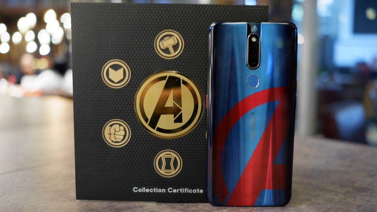 OPPO F11 Pro Avengers Feature