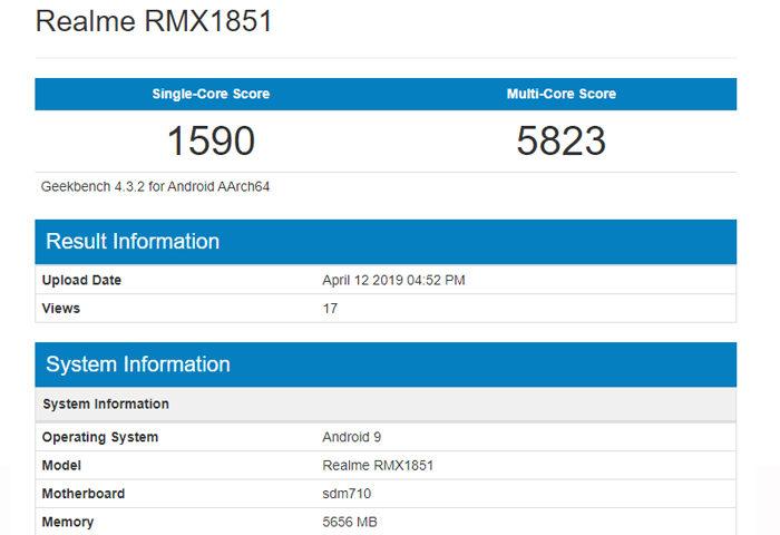 Realme 3 Pro RMX1851