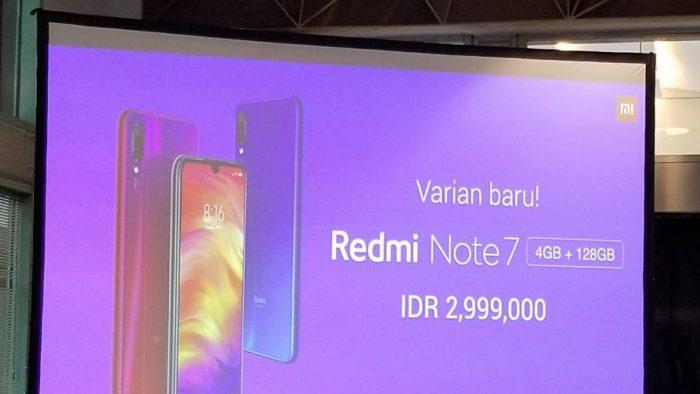 Slide Harga Redmi Note 7 128GB