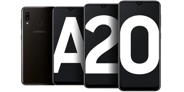 Samsung A20 Vs Realme 3 Layar