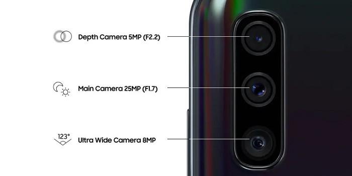 Samsung A50 vs A70 Kamera