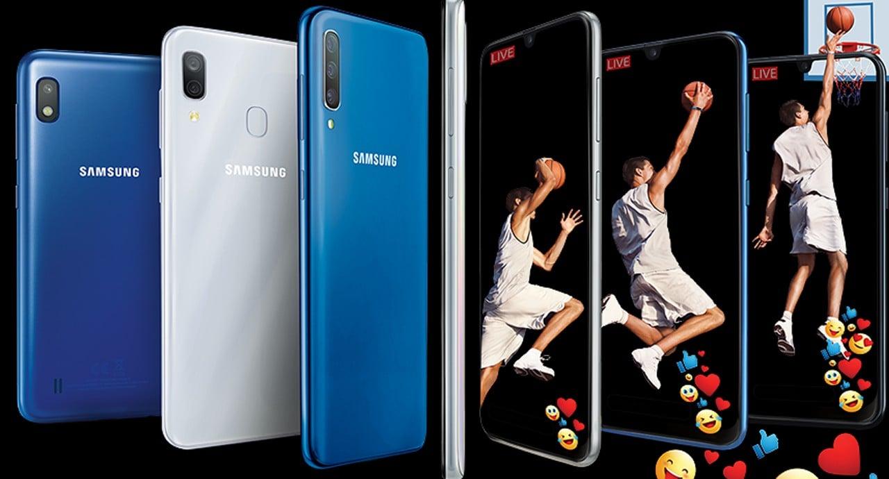 Cara Screenshot Samsung Galaxy A10 Header