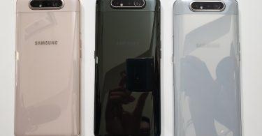 Samsung Galaxy A80 Warna