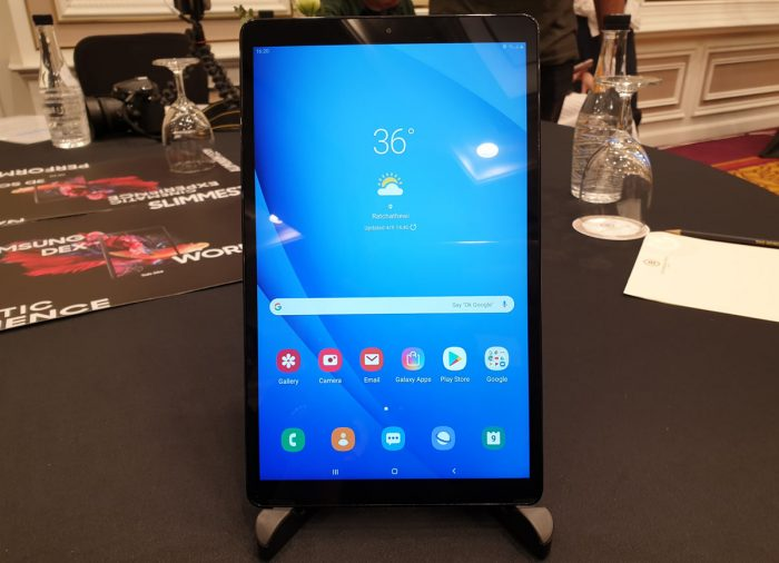 Samsung Galaxy Tab A10 Desain