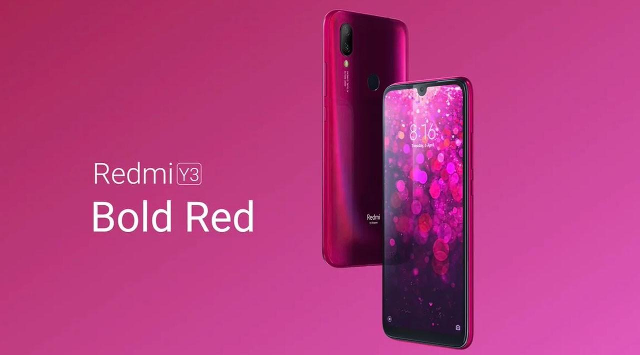Xiaomi Redmi Y3 Header