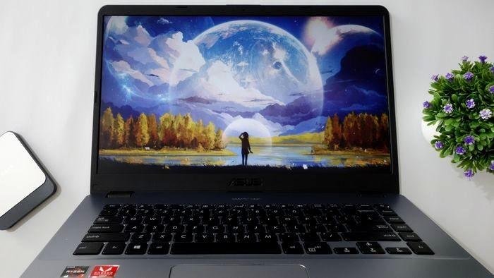 ASUS VivoBook X505ZA Layar