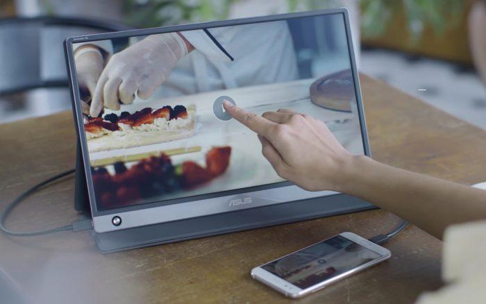 ASUS ZenScreen Touch Smartphone