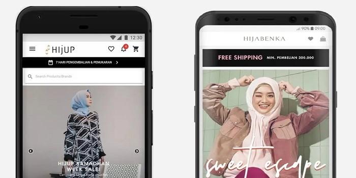 Aplikasi Busana Lebaran Terbaru Hijup Hijabenka