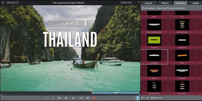 Aplikasi Edit Video di Laptop - Magix