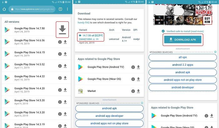 Cara Mendownload Play Store di HP Samsung - Download