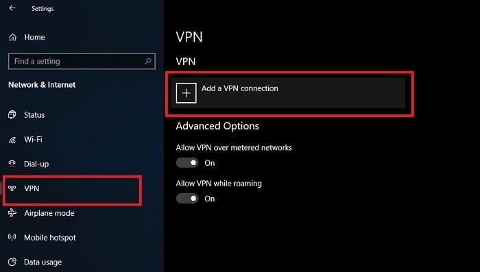 Cara Menggunakan VPN di Laptop Windows 10