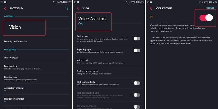 Cara Menonaktifkan Talkback Samsung