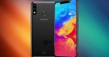 Infinix Hot 7 Pro Back