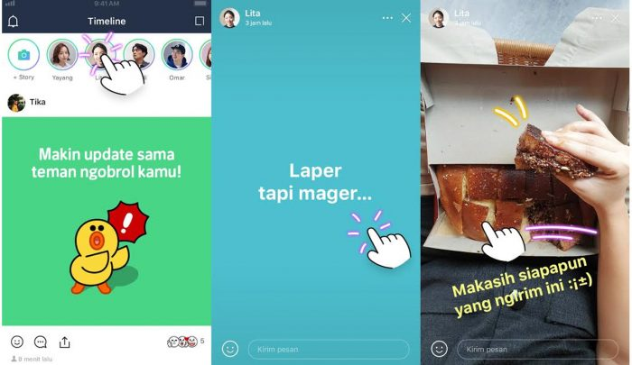 LINE Story All