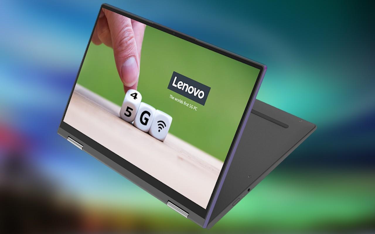 Laptop Lenovo 5G Feature