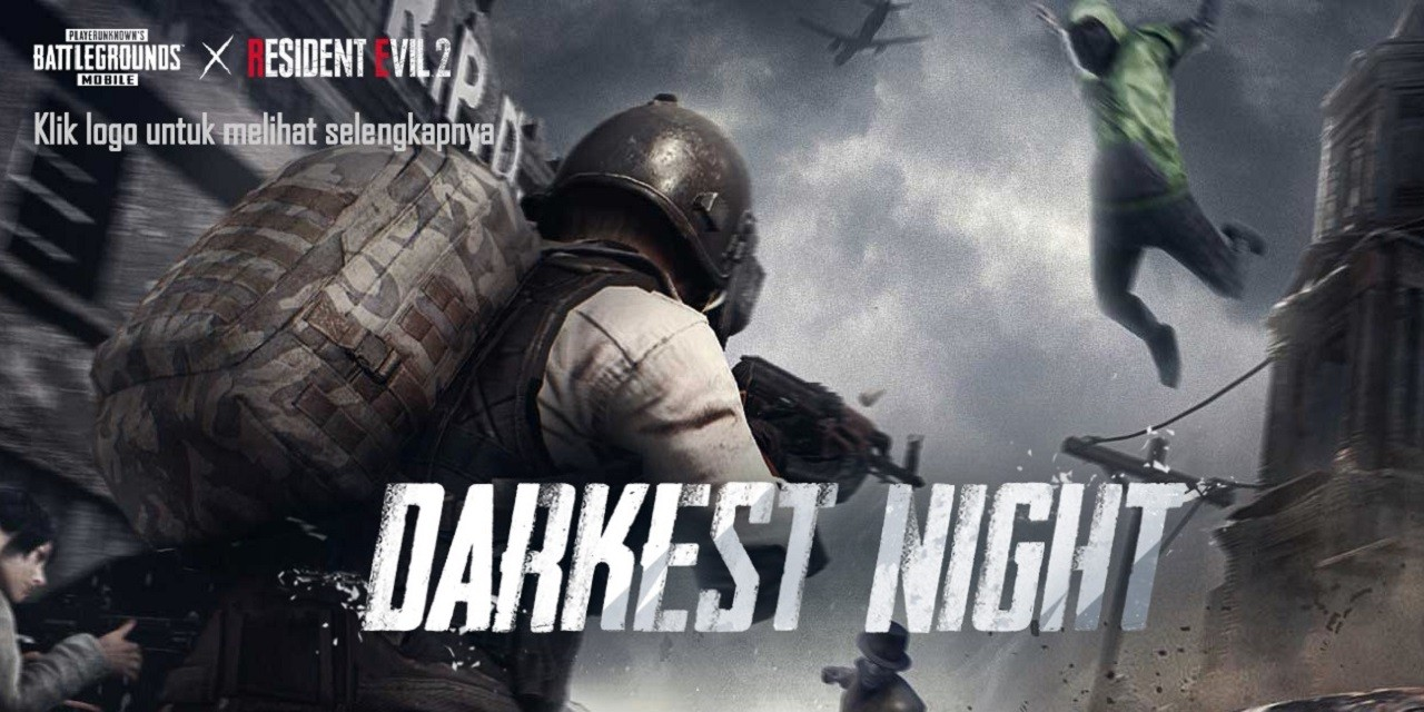 PUBG Mobile Darkest Night Header