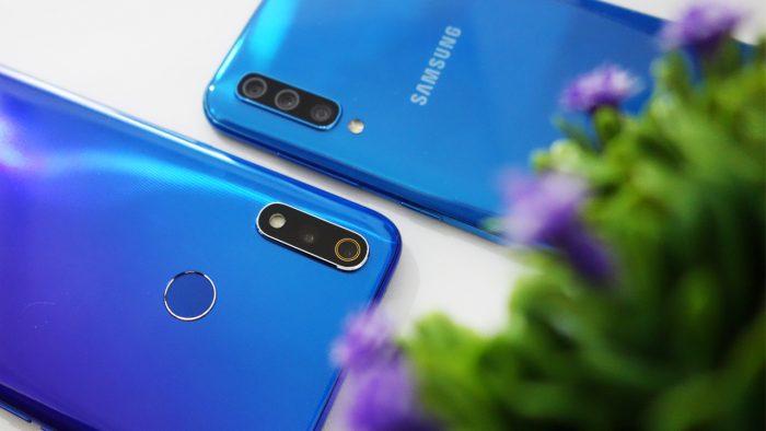 Kini smartphone kelas menengah dengan performa tinggi Duel Smartphone realme 3 Pro vs Samsung Galaxy A50 – Mana yang Lebih Tangguh?
