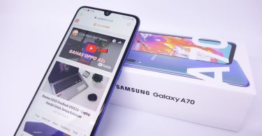 Review Samsung Galaxy A70 Header