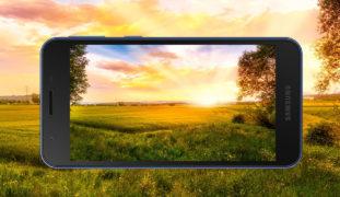 Cara Menampilkan Watermark Merek HP di Kamera Samsung ...