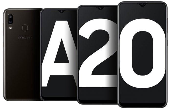 Samsung Galaxy A20 vs Vivo Y93 Header