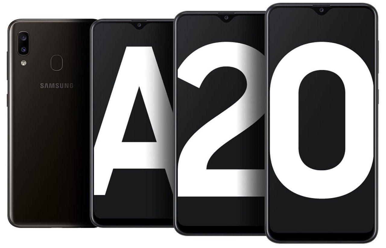 Cara Screenshot Samsung Galaxy A20 Header