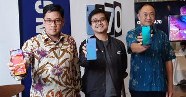 Samsung Galaxy A70 Featurez