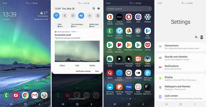 Samsung Galaxy S10 Plus - UI