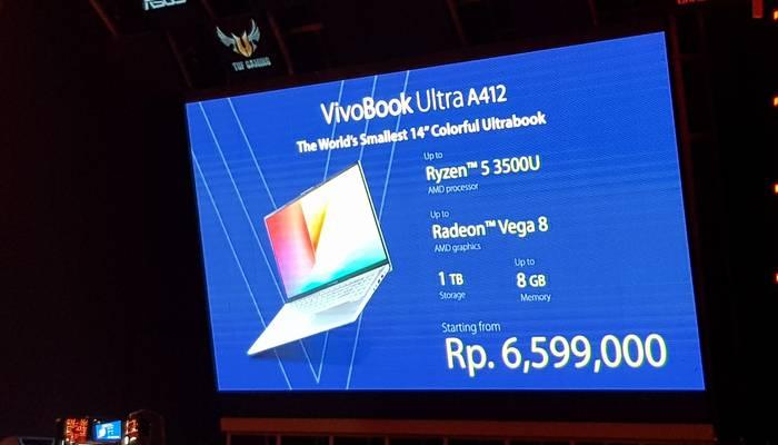 ASUS VivoBook A412DA Harga