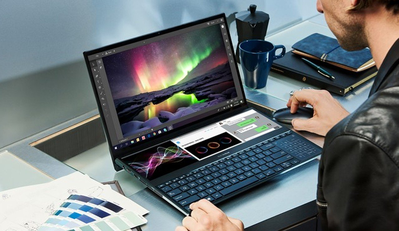 ASUS ZenBook Pro Duo Feature