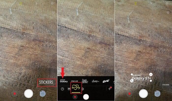 Langkah cara Menampilkan Merek HP di Kamera Samsung