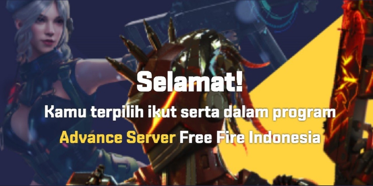 Free Fire Advance Server Header