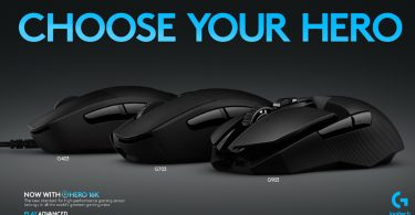Logitech Mouse HERO 16K Feature