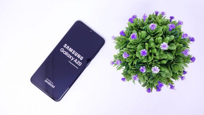 Review Samsung Galaxy A20 Header