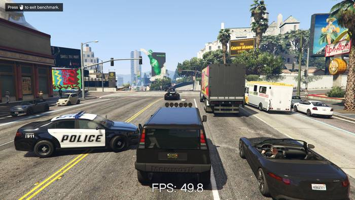 ASUS TUF Gaming FX505DT GTA5