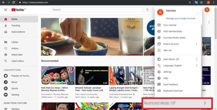Cara Blokir Konten Dewasa Youtube Di Berbagai Macam Perangkat Gadgetren