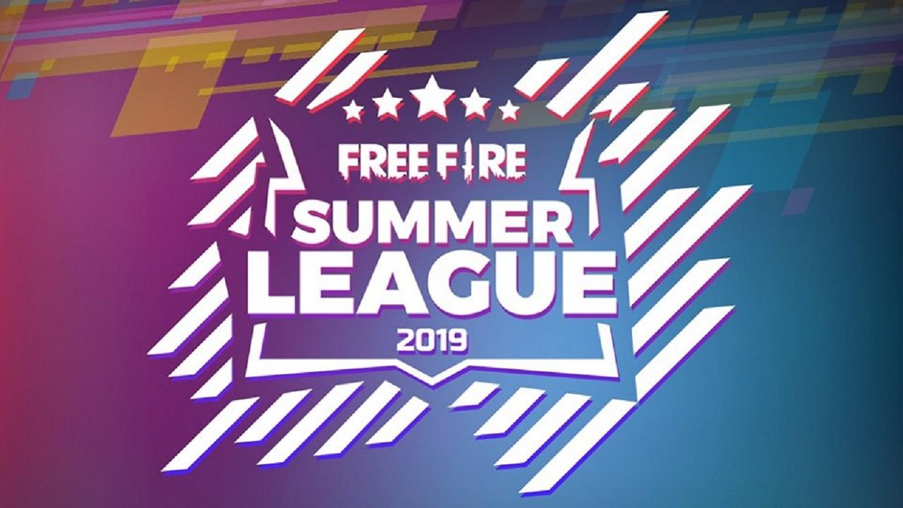 Free Fire Summer League 2019 Header