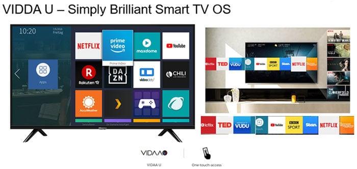 Hisense Smart TV VIDAA U