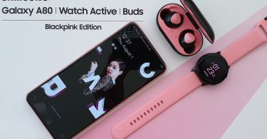 Samsung Galaxy A80 Edisi BlackPink Feature