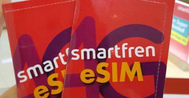 Smartfren eSIM Feature