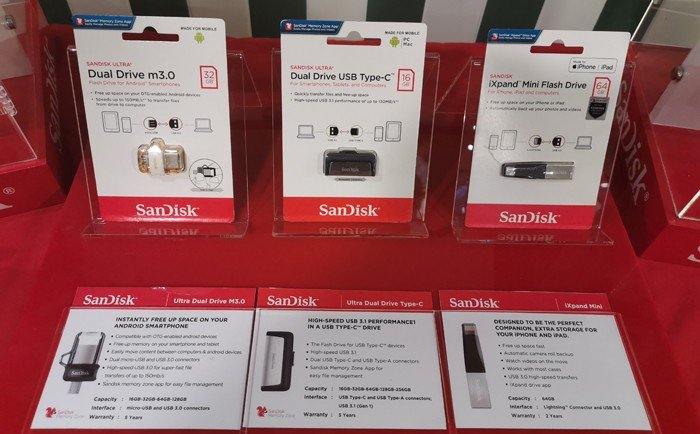 WD SanDisk Product