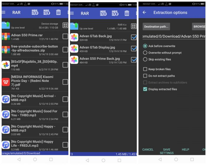 Cara Membuka Dan Mengekstrak File Rar Di Smartphone Android Gadgetren