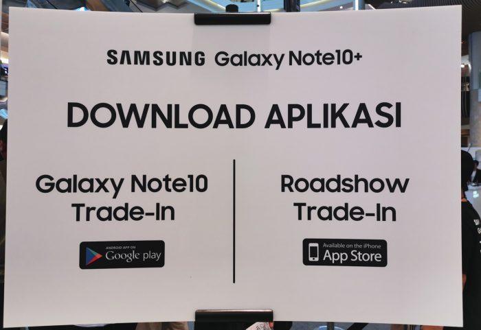 Aplikasi Galaxy Note 10 Trade In
