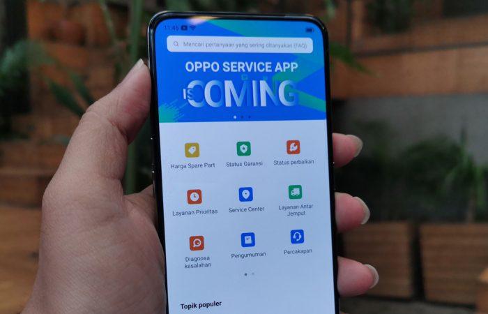 Aplikasi OPPO Atas