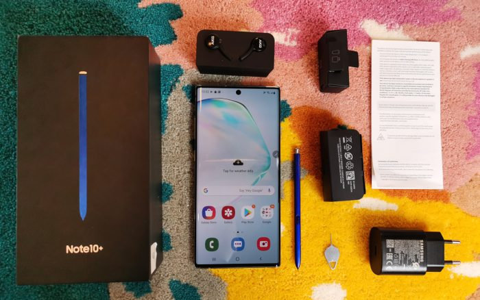 Galaxy Note 10 All Box