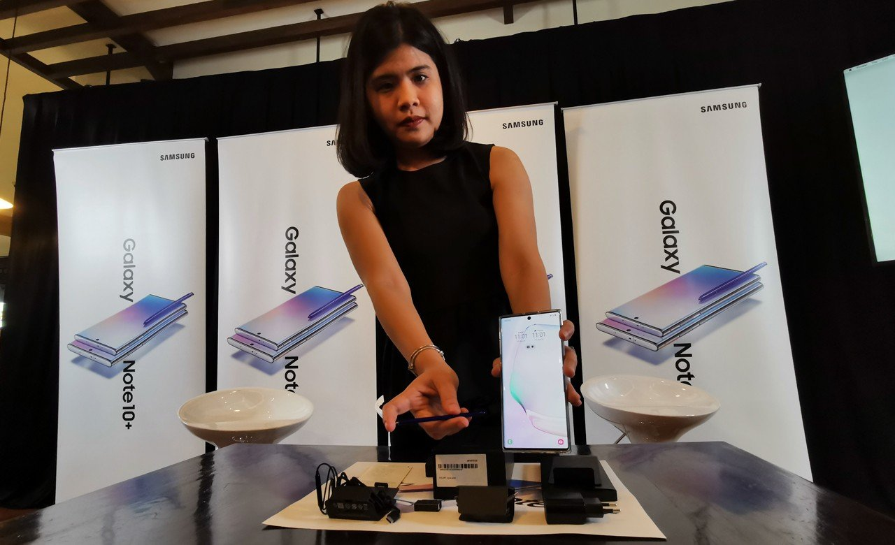 Galaxy Note 10 Unboxing Feature