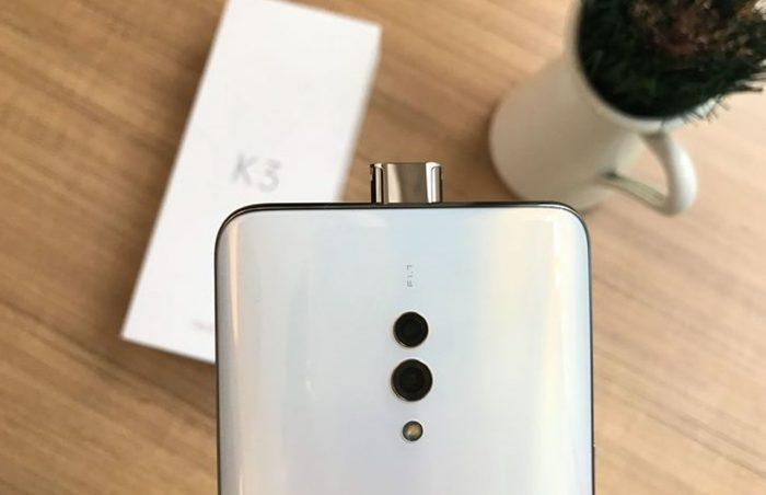 OPPO K3 Kamera Depan