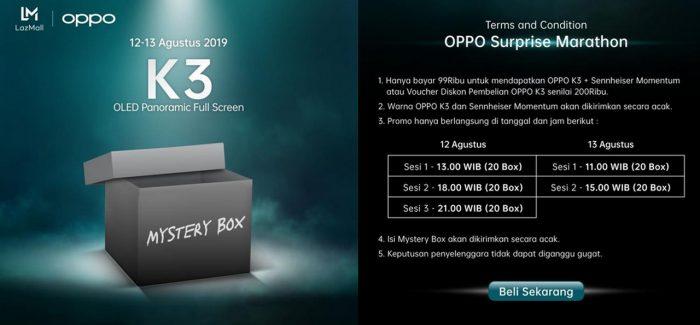 OPPO K3 Mystery Box
